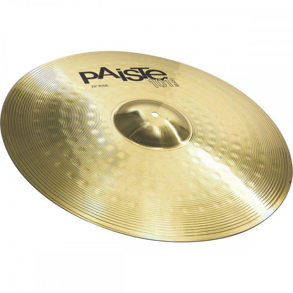 Paiste 101 - 20 Inch Brass Ride Cymbal