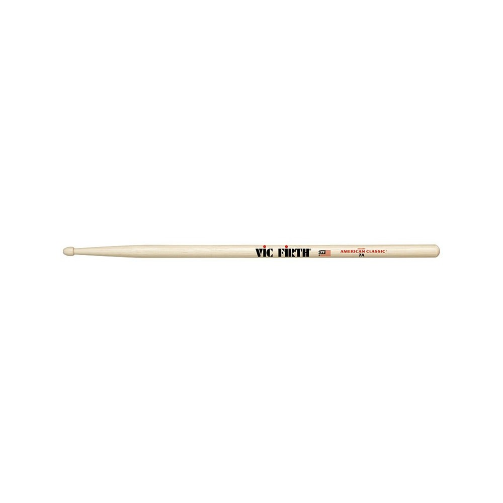 Vic Firth 7A Drum Sticks Wood Tip