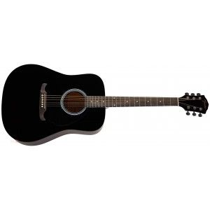 Fender FA125 Acoustic Guitar- Black