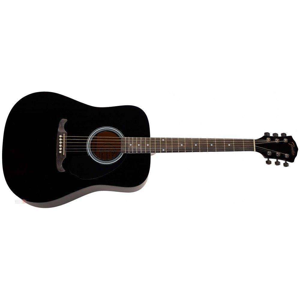 Fender FA-125 Acoustic Guitar- Black