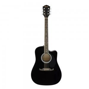 Fender FA125CE Semi Acoustic Guitar- Black