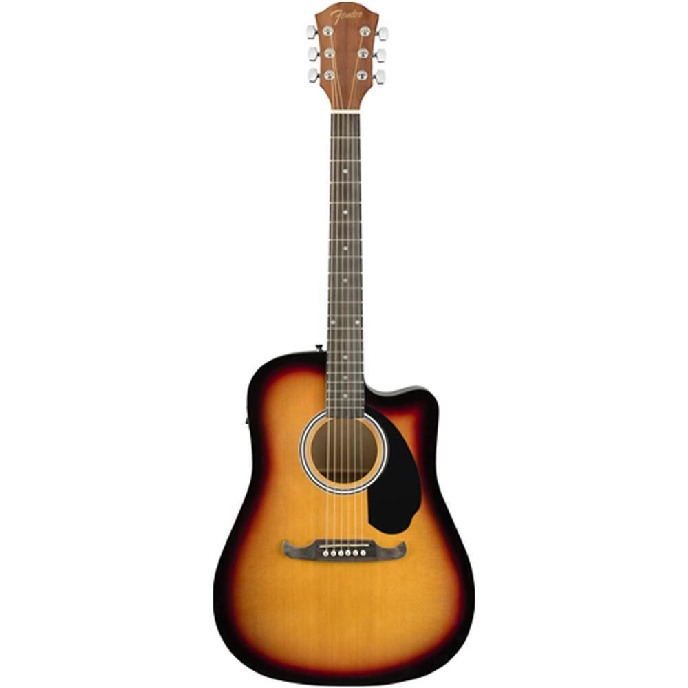 Fender FA-125CE Semi Acoustic Guitar- Sunburst