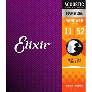 Elixir Acoustic Guitar String 11-52
