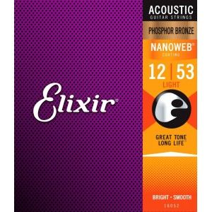 Elixir Acoustic Guitar String 12-53