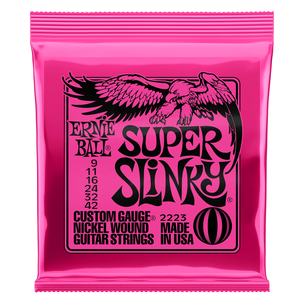 Ernie Ball Super Slinky Nickel 9-42