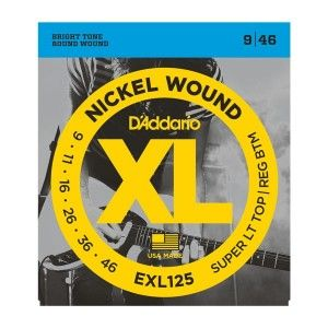 D'Addario EXL125 Super Light Strings