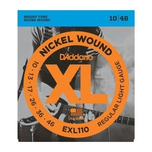 D'Addario EXL110 Regular Light Electric Guitar String Set