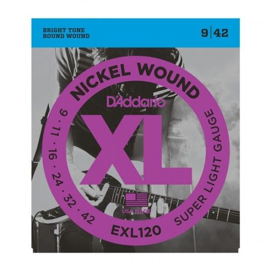 D'Addario EXL120 Super Light Electric Guitar String Set