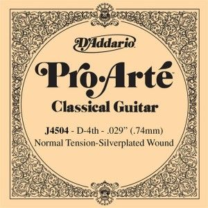 D'Addario Pro Arte Classical Guitar Strings, Normal Clear - Set EJ45