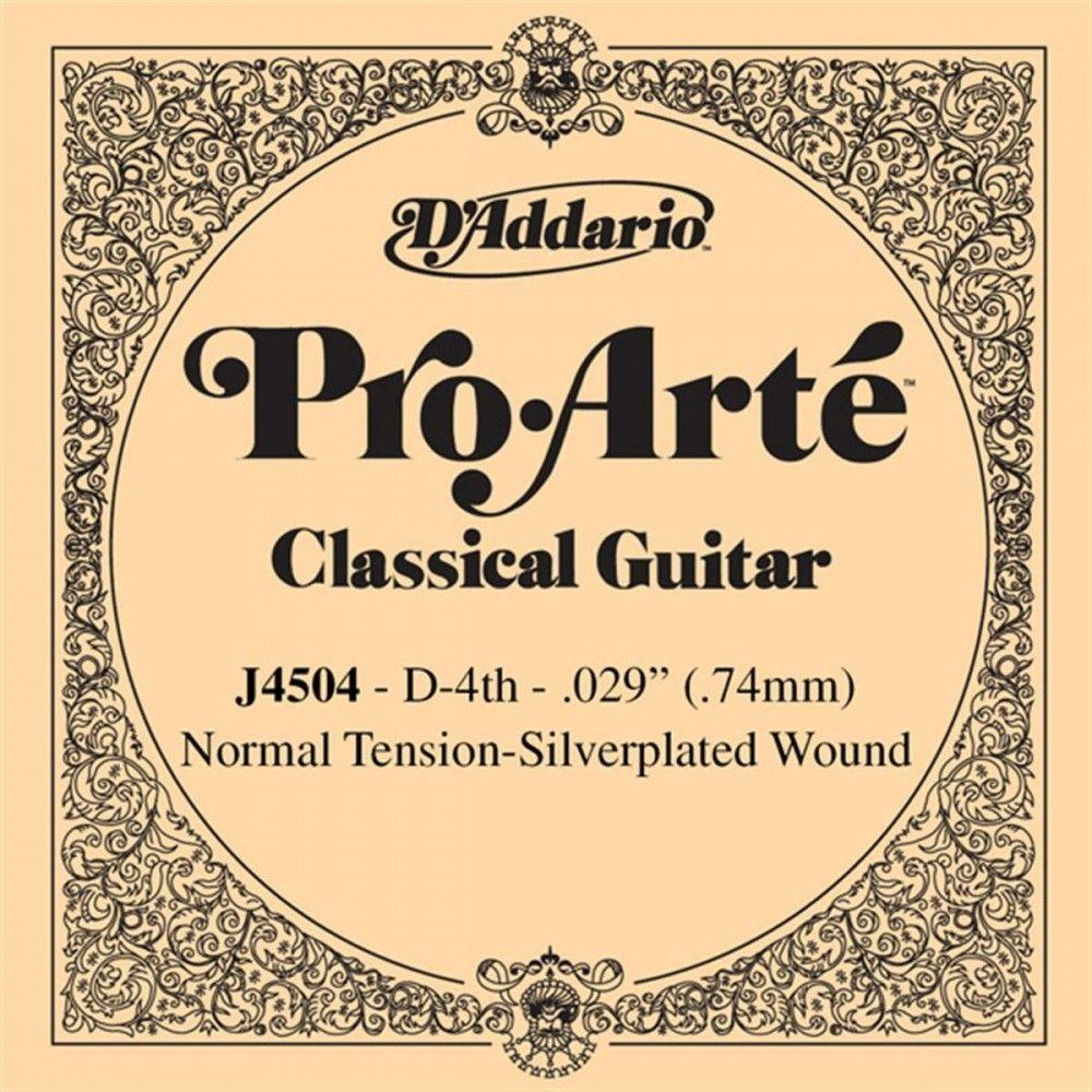 D'Addario Pro Arte Classical Guitar Strings, Normal Clear - Set EJ45