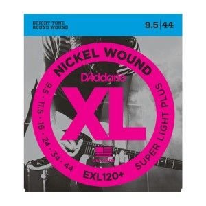 D'Addario EXL120+ Super Light Plus Electric Guitar String Set