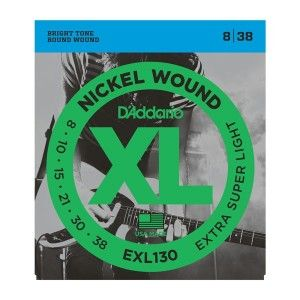 D'Addario EXL130 Extra Super Light Electric Guitar String Set