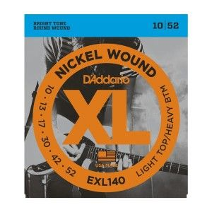 D'Addario EXL140 Light Top/Heavy Bottom Electric Guitar String Set