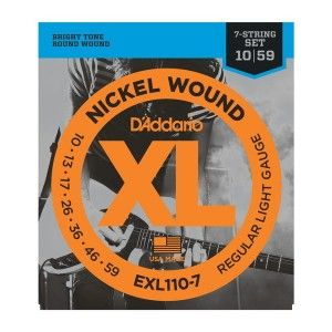 D'Addario EXL110-7 Seven String Electric Guitar String Set