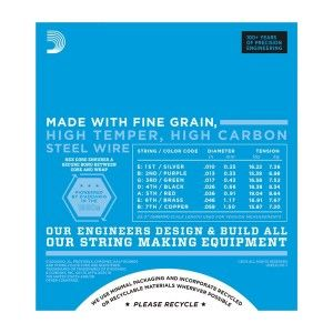 D'Addario EXL110 7-String Electric Guitar String Set