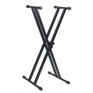 Score Double X Keyboard Stand