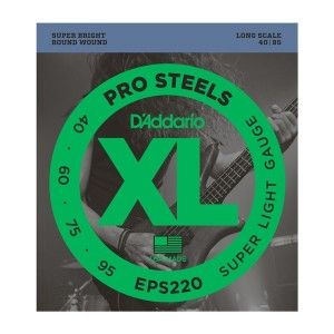 D'Addario ESP220 Bass Guitar String Set