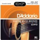 D'Addario, Acoustic Guitar Strings, 80/20 Bronze .010-.047 - Set EXP10 Extra Light