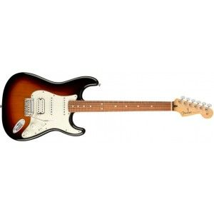 Fender Player Stratocaster Electric Guitar HSS -Pau Ferro Fingerboard