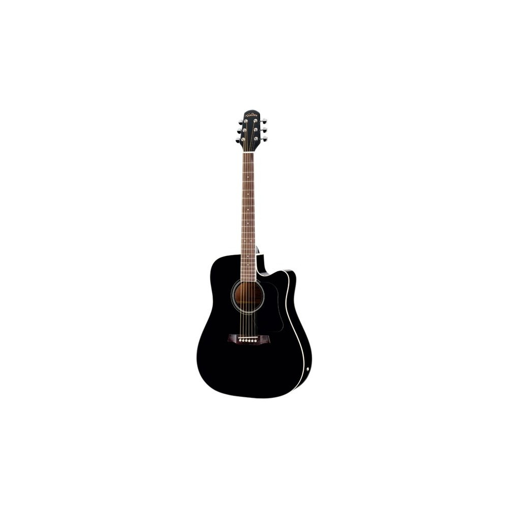 Walden D350CEB Semi Acoustic Guitar-Includes Fully Padded Bag