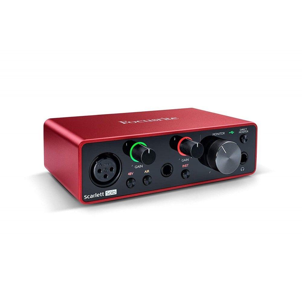 Focusrite Scarlett Solo (3rd Generation) USB Audio Interface