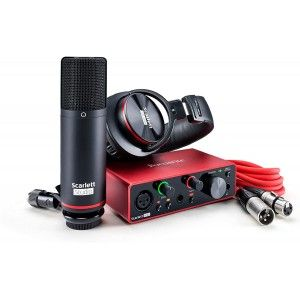 Focusrite Scarlett Solo Studio(3rd Generation)Bundle