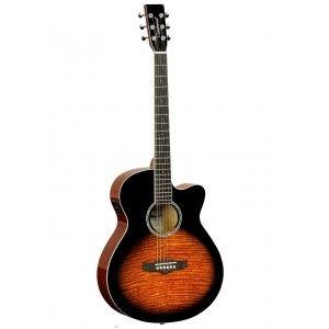 Tanglewood TL SFCE DVB Semi-Acoustic Guitar