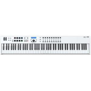 Arturia Keylab Essential 88 Midi Controller Keyboard- White