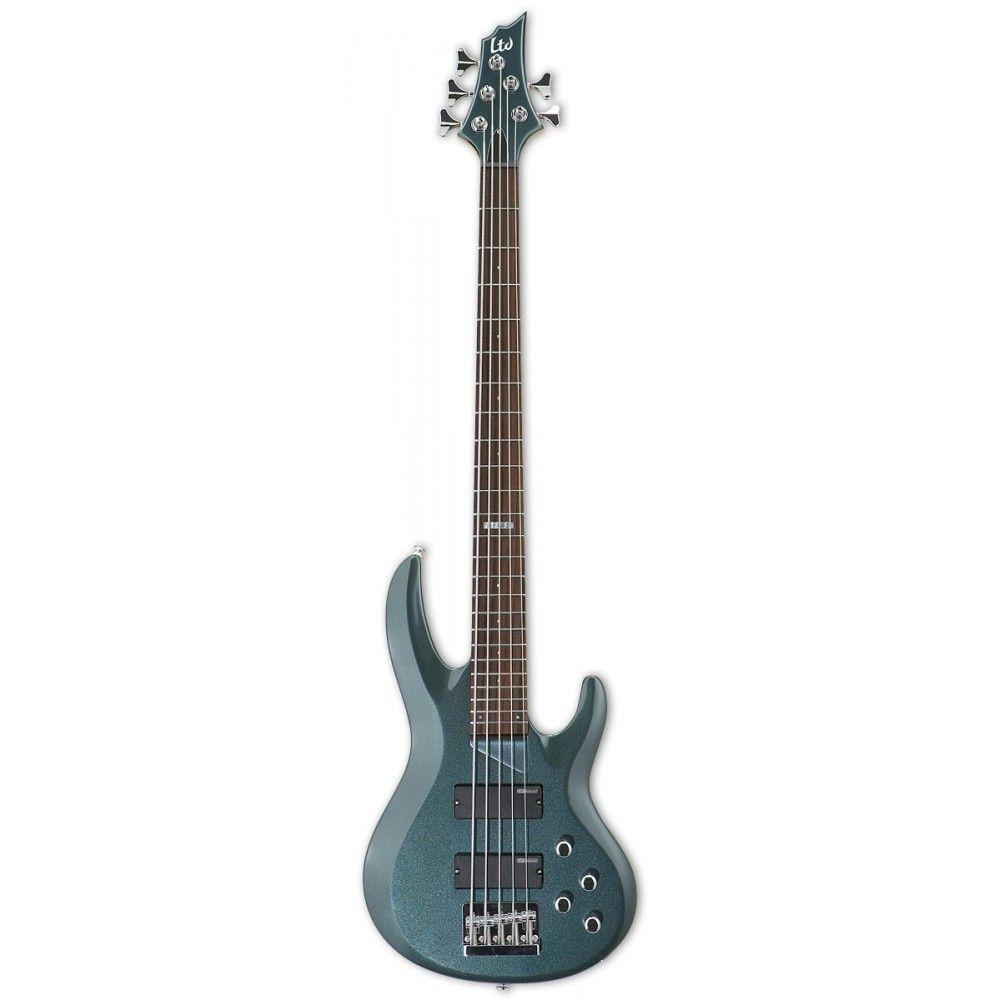 esp ltd b 105 5 string bass guitar. Black Bedroom Furniture Sets. Home Design Ideas