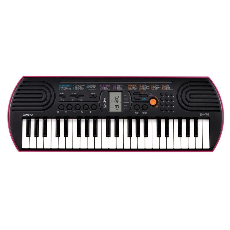 casio sa 78 mini keyboard best price sold online in. Black Bedroom Furniture Sets. Home Design Ideas