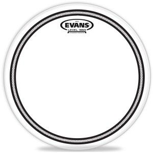 Evan TT12EC2 12'' Clear Tom Heads