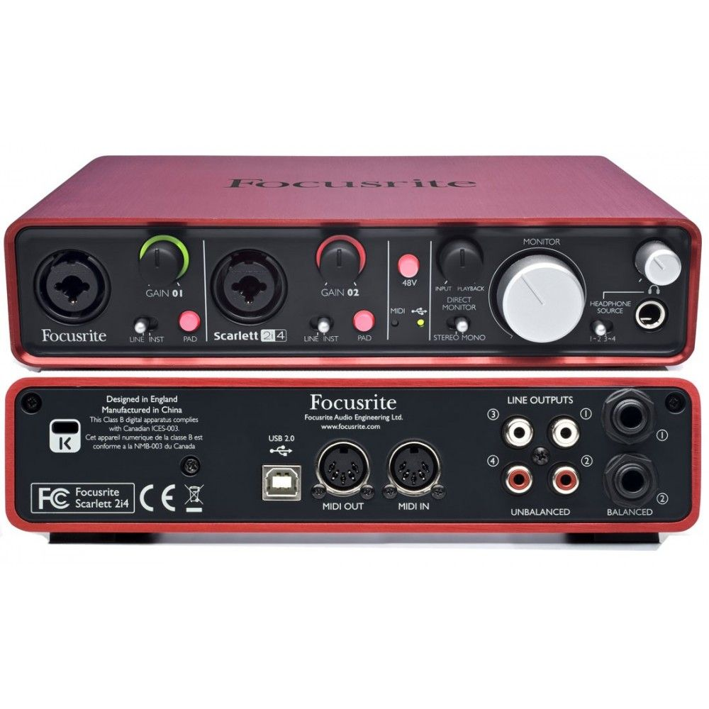 FOCUSRITE SCARLETT 2I4 DRIVER DOWNLOAD