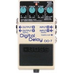 Boss DD-7 Digital Delay Effect Pedal