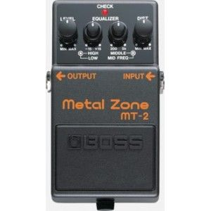 Boss MT-2 Metal Zone Effect Pedal