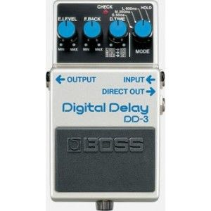 Boss DD-3 Digital Delay Effect Pedal