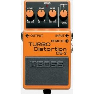Boss DS-2 Turbo Distortion Effect Pedal